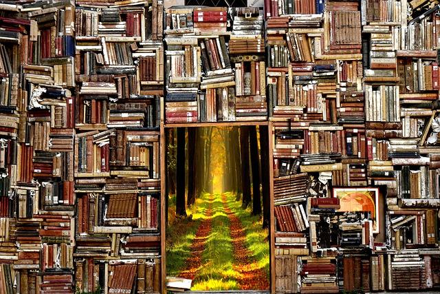物語へ通じる本棚
